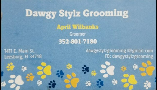 Dawgy Stylz Grooming